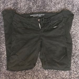 Green American Eagle jeans